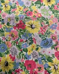 Liberty Cotton: Flower Show Spring